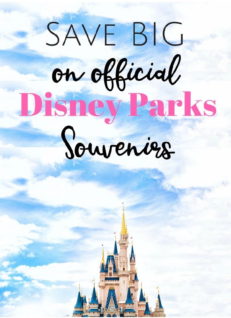 Save Big on Official Disney Parks Souvenirs