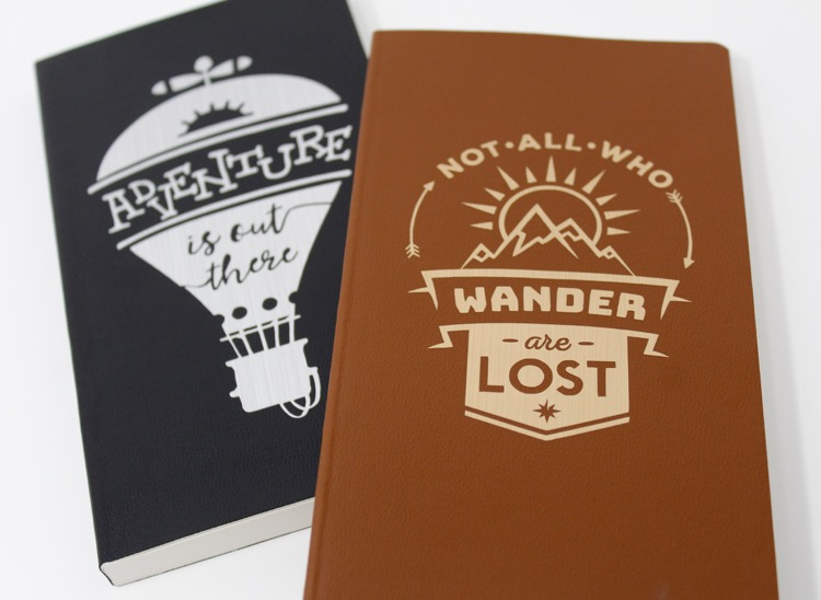 DIY Dollar Store Travel Notebook