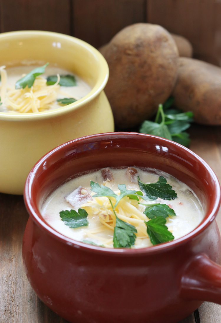 Slow Cooker Turkey Sausage and Potato Soup