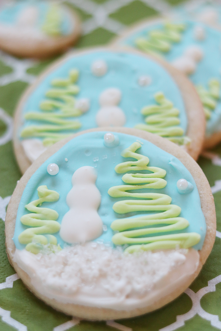 Winter Wonderland Sugar Cookies with Royal Icing