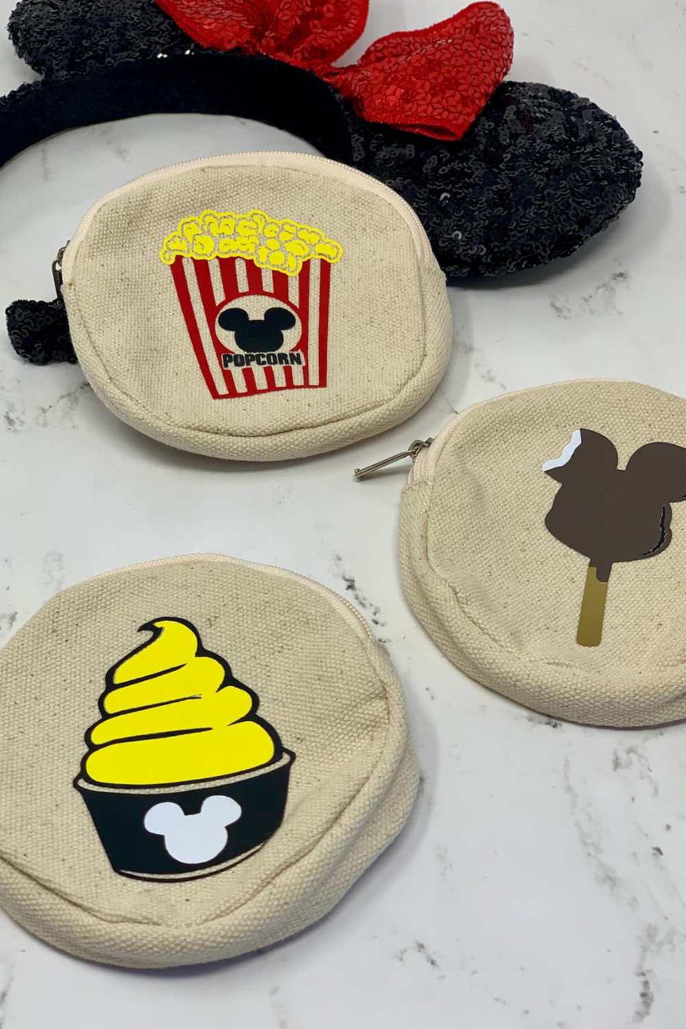 DIY Disney Treat Coin Purses