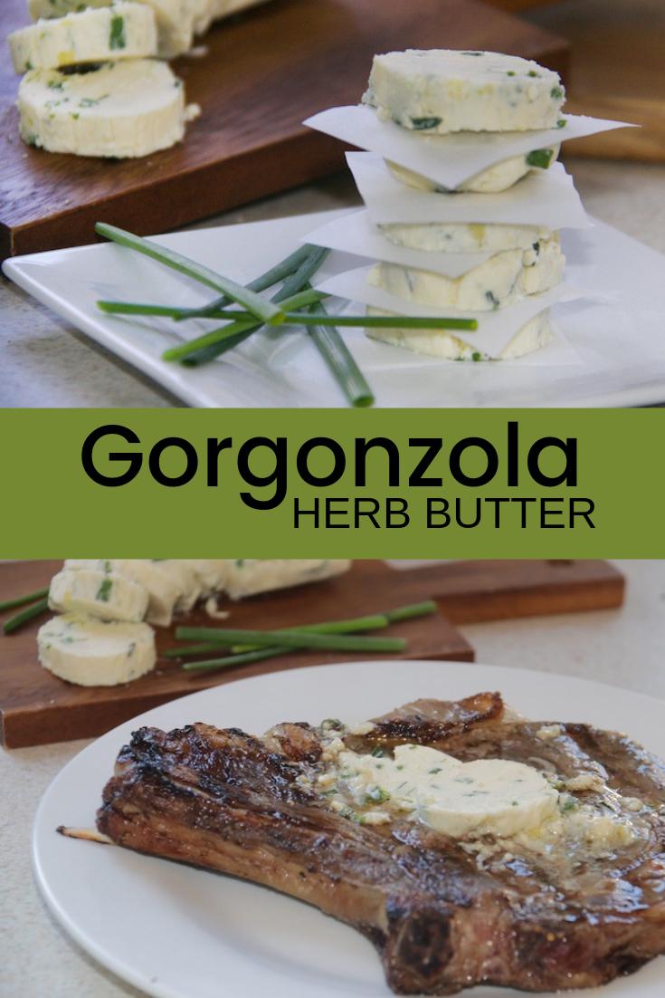 Gorgonzola Herb Butter