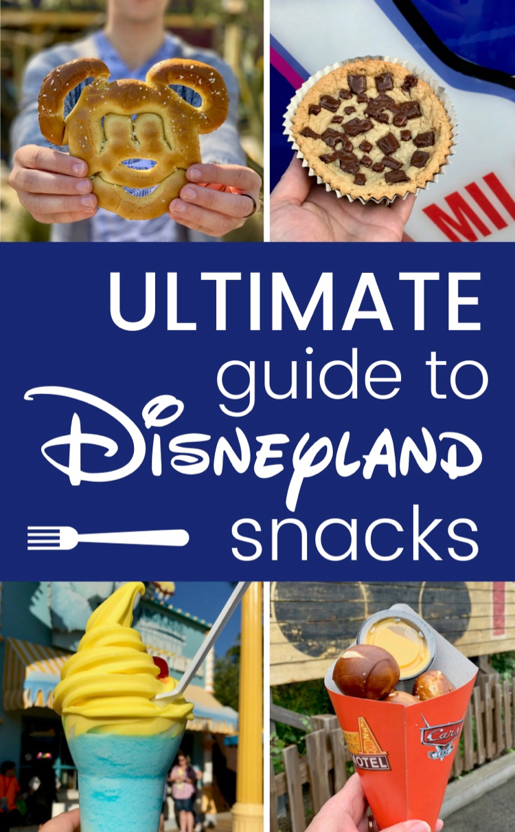 Ultimate Guide to the Best Disneyland Snacks