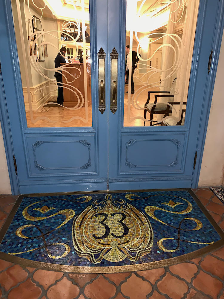 Our Visit to Club 33 at Disneyland