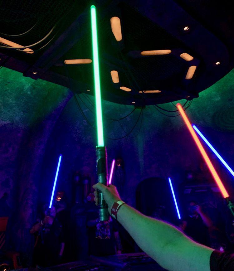 Make Custom Lightsaber at Savi's Workshop at Star Wars: Galaxy's Edge