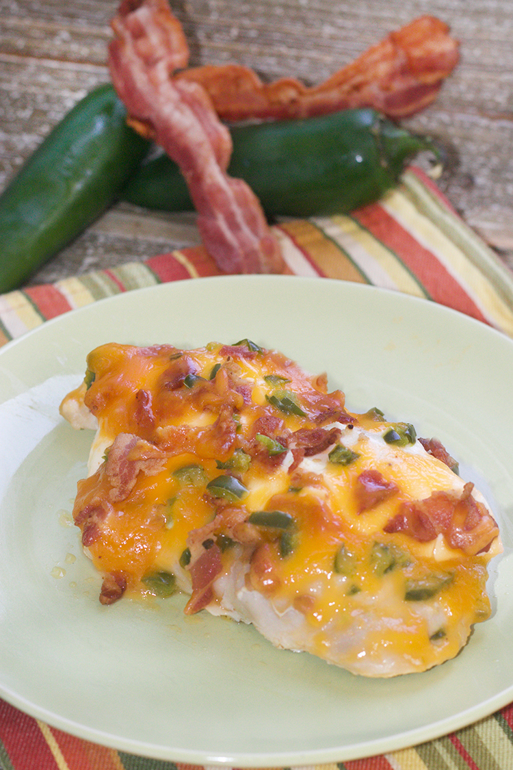Bacon-Jalapeno Popper Chicken