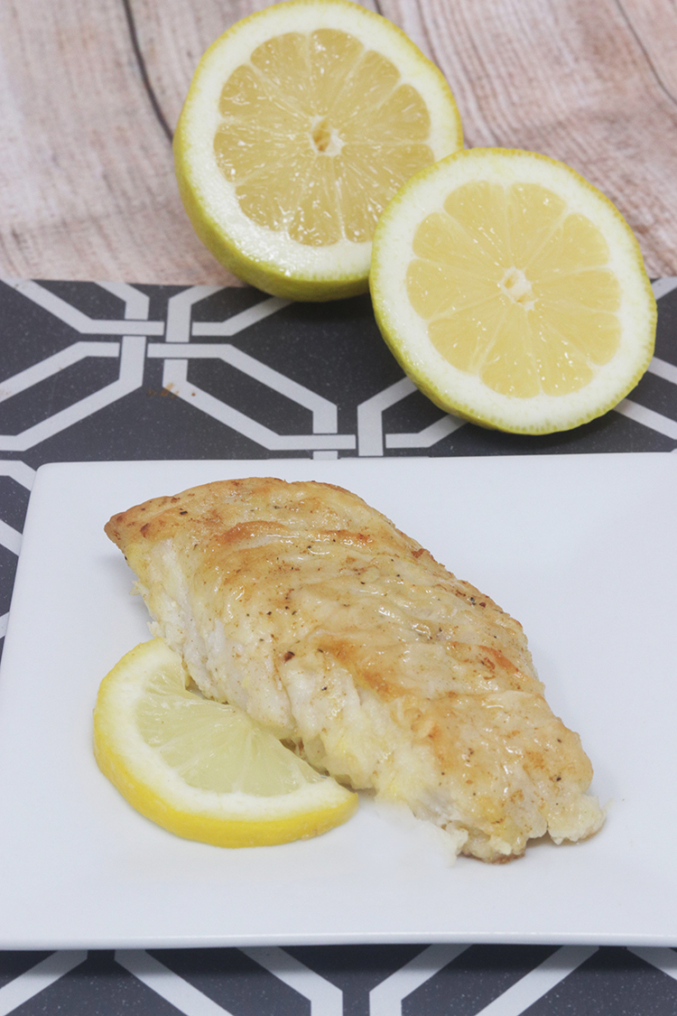 Pan-Fried Lemon Butter Cod