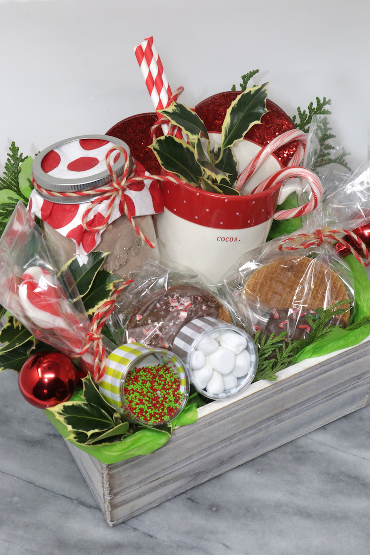 Homemade Hot Cocoa Gift Basket