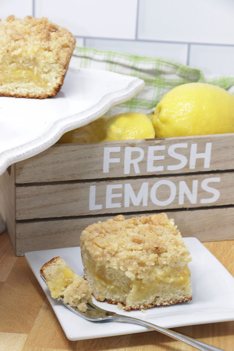 Lemon Cheese Coffee Cake