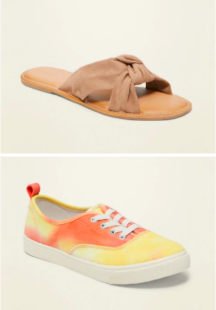 Old Navy 50% off Shoes (6/10 only)
