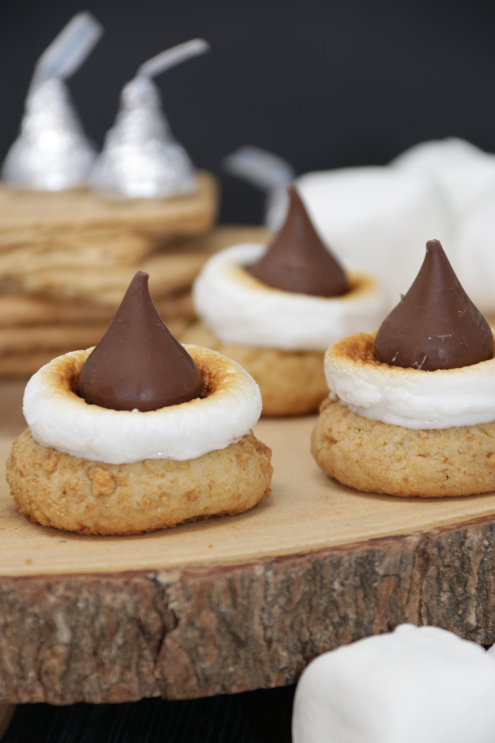 S'mores Blossom Cookies