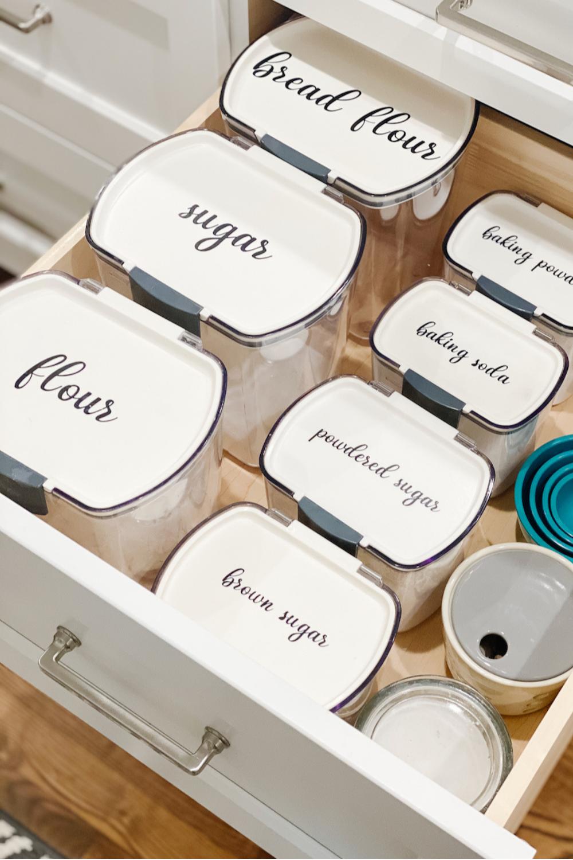 Baking Supplies Organization