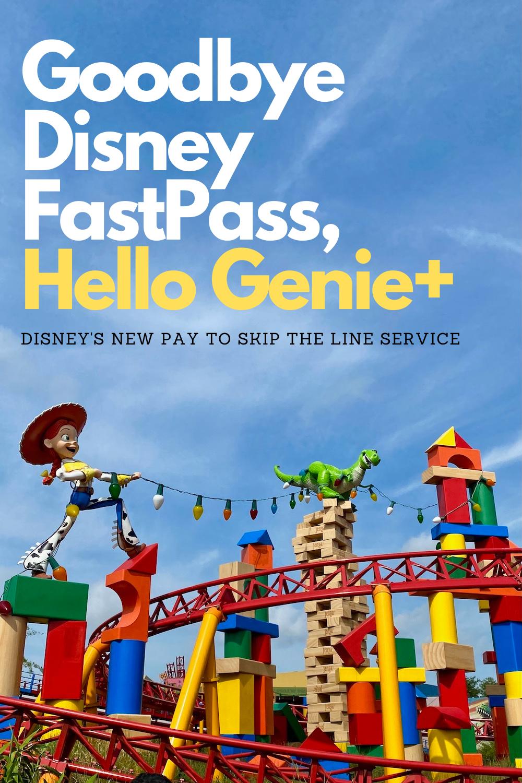 Disney FastPass Retired, Replaced with Disney Genie+
